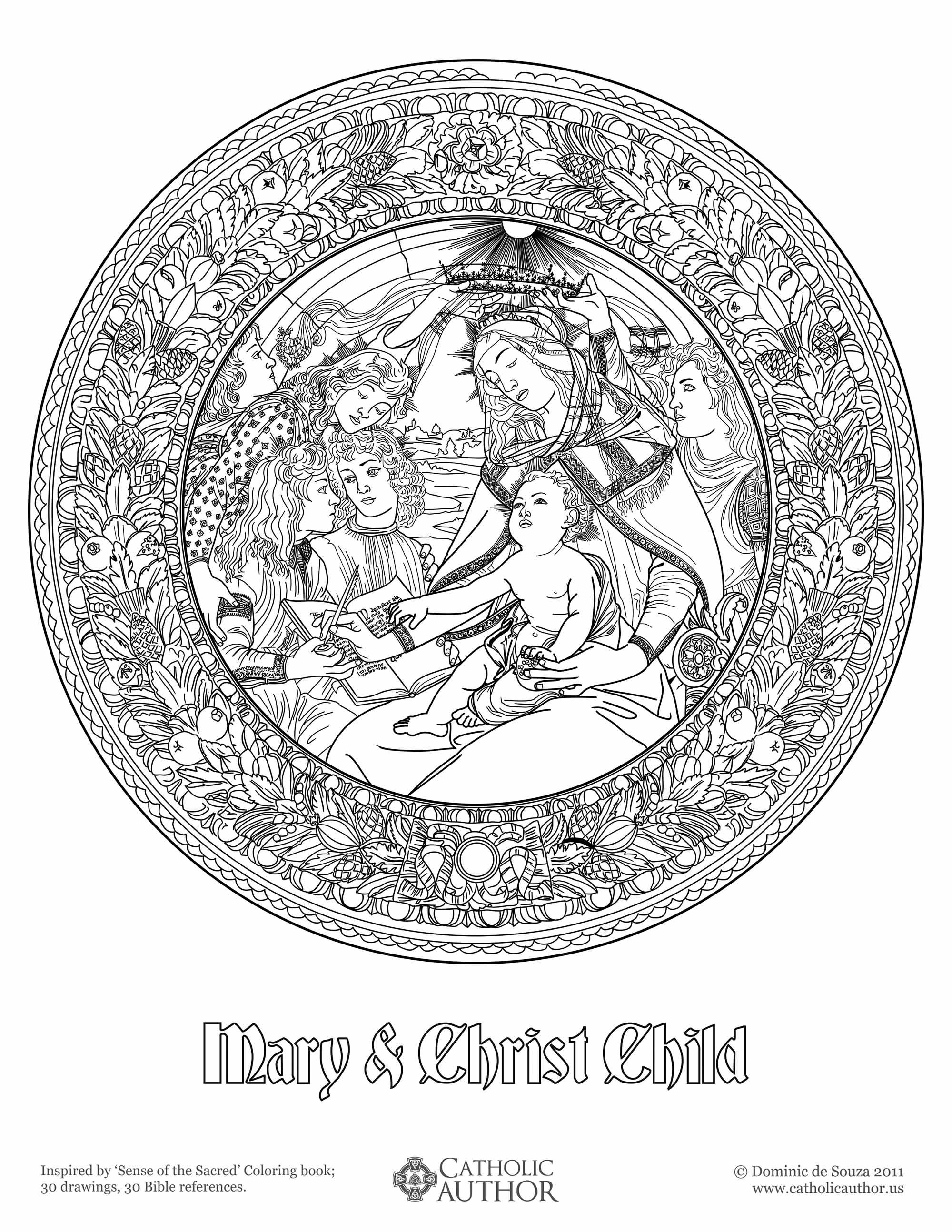 Mary Amp Christ Child