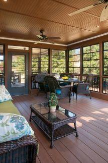 Three Season Porch With Eze-breeze Windows