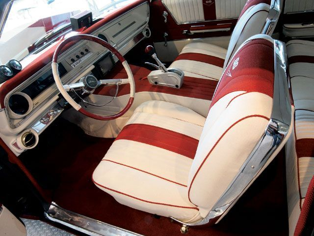 Impala Convertible Interiors 1962 Ss Chevy
