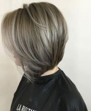 gray hair color ideas short