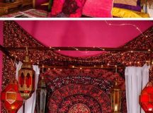 Bold Pink Colors | Click Pic for 21 DIY Bohemian Bedroom ...