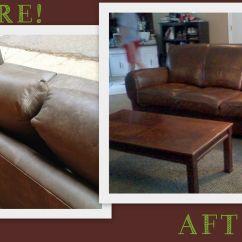 Diy Sofa Repair Deep Seat Depth Leather Dye Tulsa Care Onsite