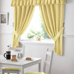 Kitchen Window Curtain Panels Cheap Unfinished Cabinets Curtains With Matching Chair Home Accessories