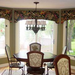 Window Treatments For Kitchens Retro Kitchen Wallpaper Bay Door Cornice