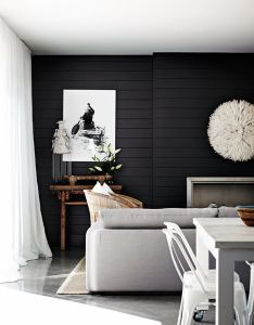 Could be one of our all time favourite examples internal cladding find this pin and more on black house interior also by lesley cooper pinterest rh