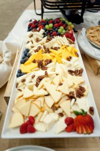 Sundance Redford Center cheese platter