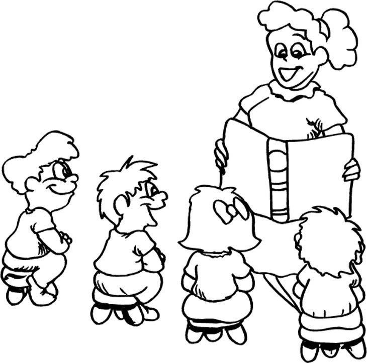 Teacher Coloring Pages : Teacher Appreciation Week