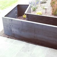 Corten Steel Planter Boxes | Metal Fabrication | Denver ...