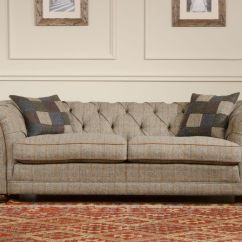 Houndstooth Sofa Fabric Acronym Urban Dictionary Tetrad Harris Tweed Castlebay From George Tannahill ...