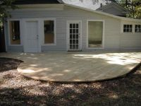 backyard deck ideas ground level - Google Search | House ...