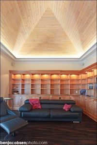 Uplighting perimeter of vaulted ceiling | Ceiling Vault ...