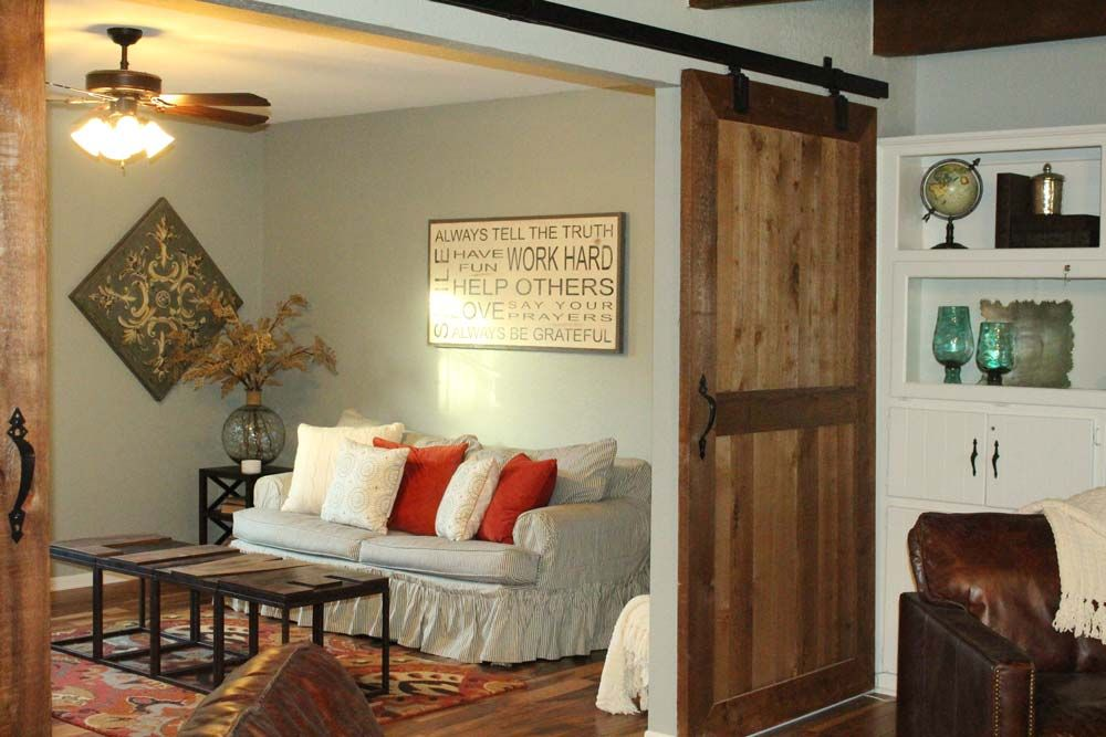 Track Door, Sliding Doors And Magnolia Homes