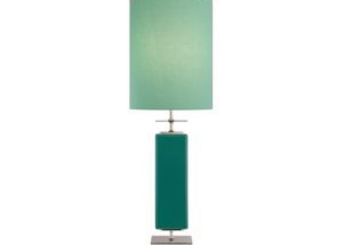 Beekman table lamp also aqua circles glass glossy  iridescent tile turquoise beach house