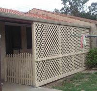 lattice fence ideas | cutting vinyl fencing-pvc-lattice ...