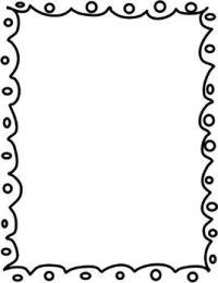 Borders / Frames FREEBIE   Siyah Beyaz ereveler ...