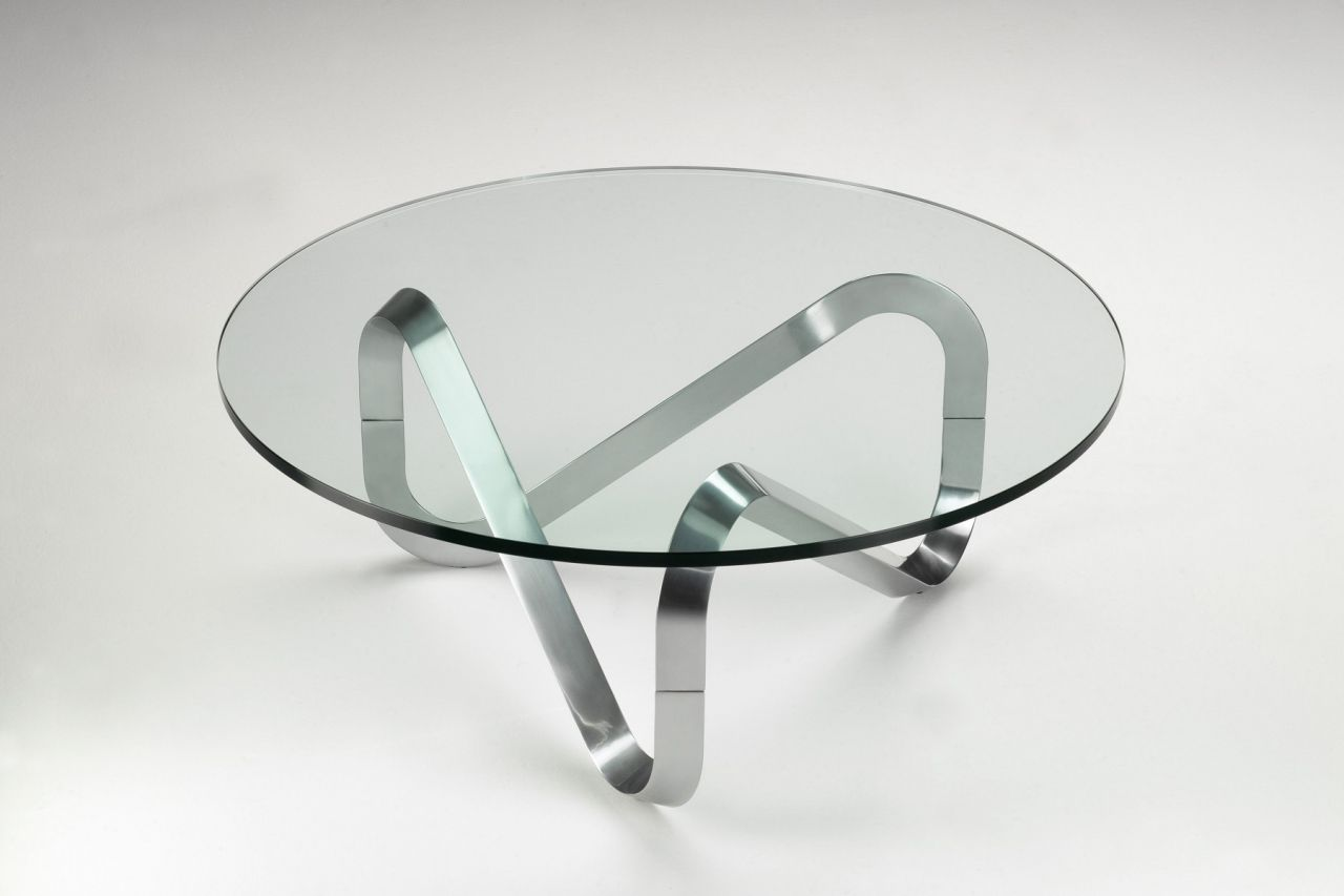 Tolle Couchtisch Glas Metall
