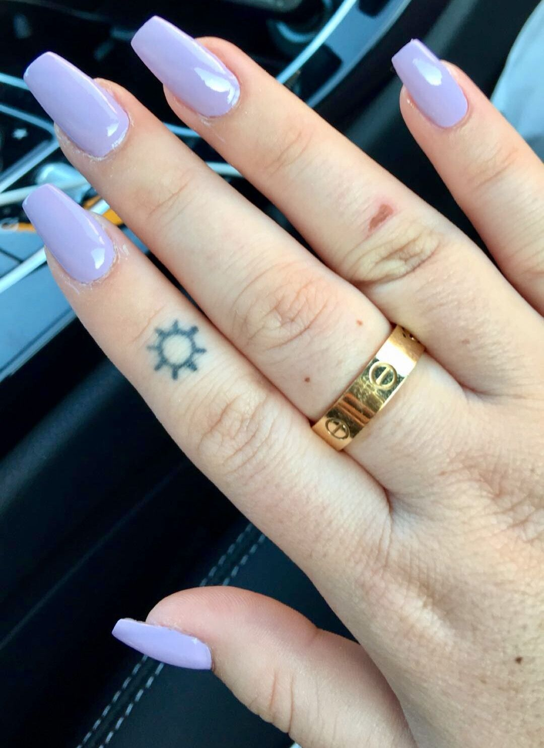 Long Square Acrylic Nails Pinterest Cute