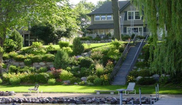 landscaping ideas steep slopes