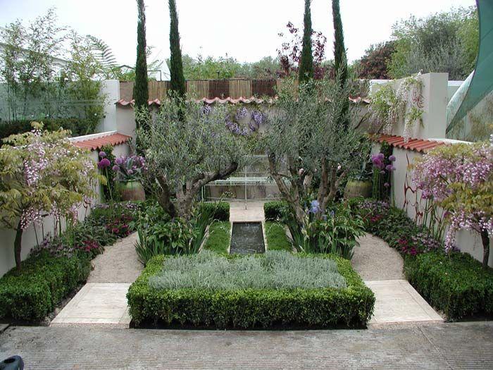 Gardens, Small Courtyard Gardens