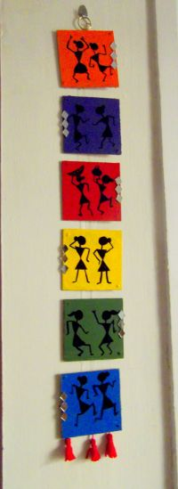 warli wall hanging | DIY projects to try | Pinterest ...