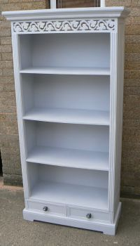 Bookcase in Autentico #Cement #chalkpaint Inspiration to ...