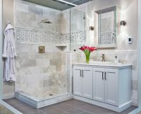 Bathroom marble wall tile