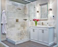 Bathroom marble wall tile