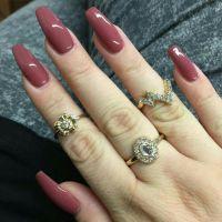 @lararosejay   habibi   Pinterest   Coffin nails, Almonds ...