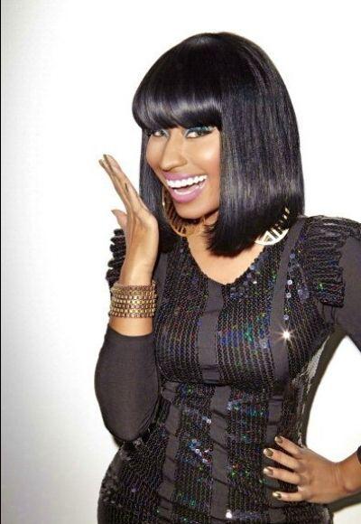 Nicki Minaj Black Hairstyle Nicki Minaj <3 Pinterest Black