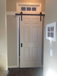 heavenly barn doors track for closets sold at menards ...