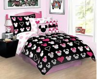 Minnie Mouse Car | Disney Minnie Mouse Love Full Bed-in ...