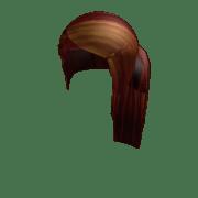 long brunette side ponytail - roblox