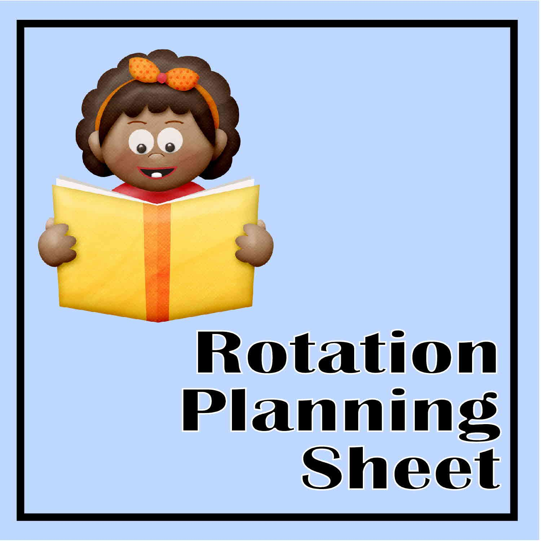 Rotation Planning Sheet
