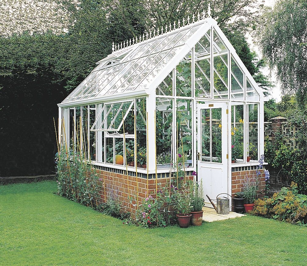 Love This Beautiful Victorian Style Greenhouse Green Thumb