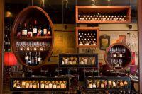 Back bar mixed shelving | pub decor | Pinterest | Bar, Pub ...