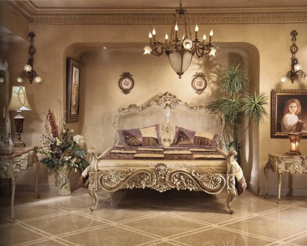 French Provincial Dream Bedroom Princess Style