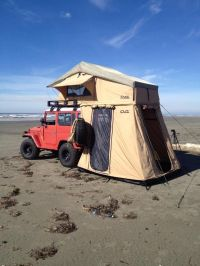 Rooftop Tents | Cascadia Vehicle Roof Top Tents | Red Jeep ...