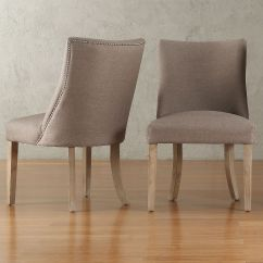 Overstock Com Dining Room Chairs Padded Sling Swivel Patio Abbott Nailhead Curved Back Upholstered