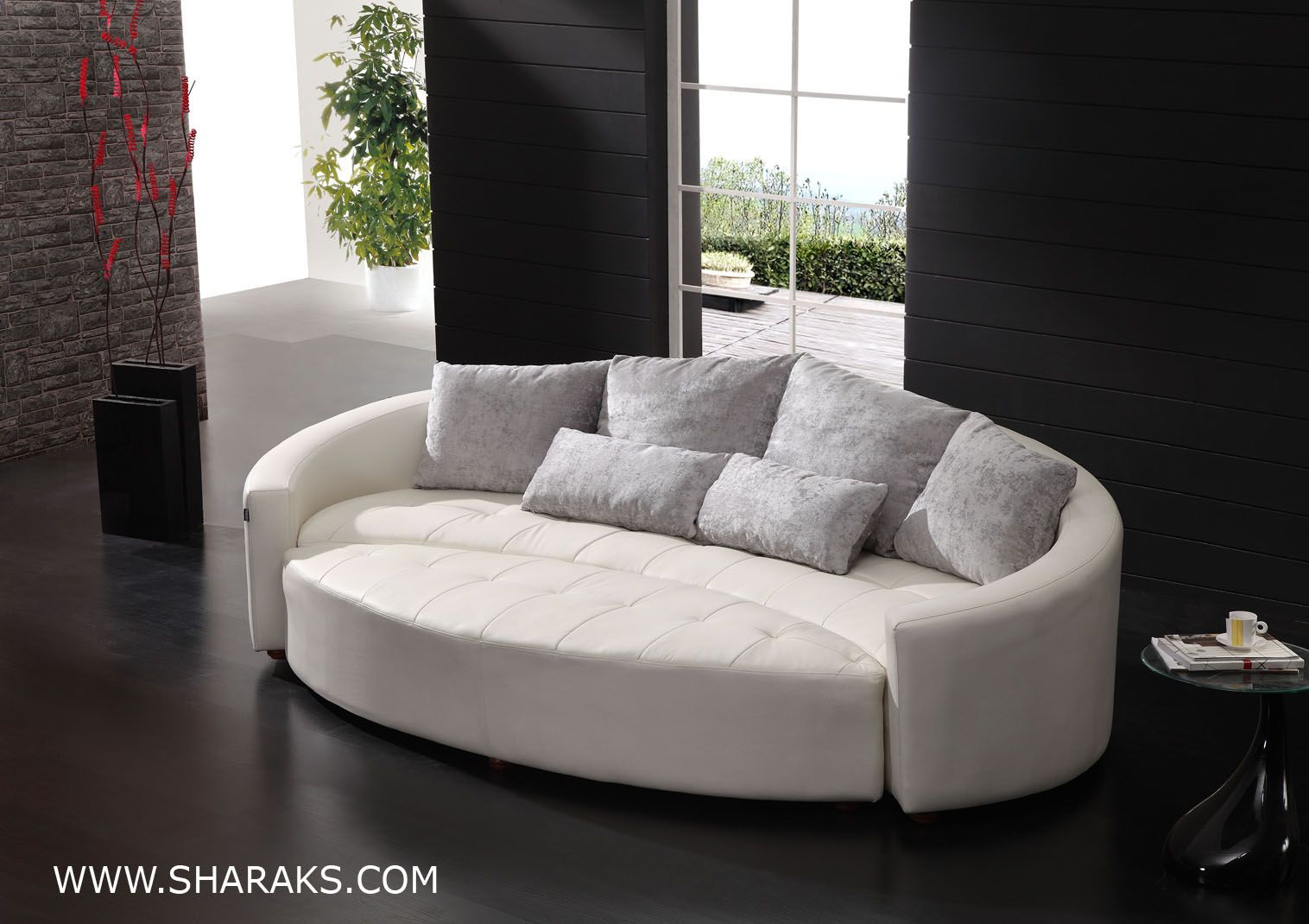 modern round sofa bed broyhill sectional stylish 1000 images about curved couch ideas on pinterest