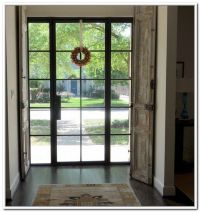 metal glass doors exterior Front Doors and Entryways