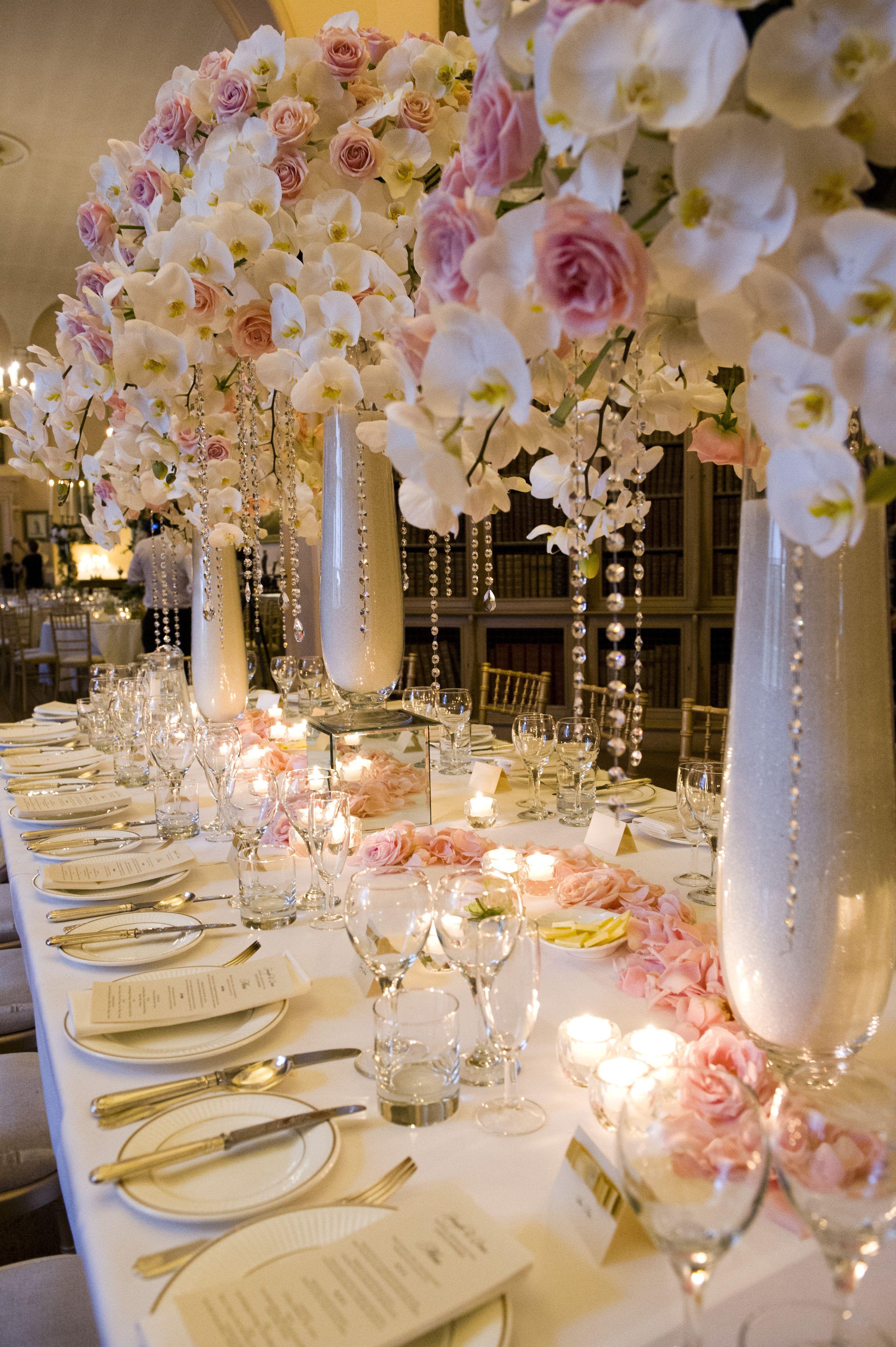 Flower Decoration Wedding Reception