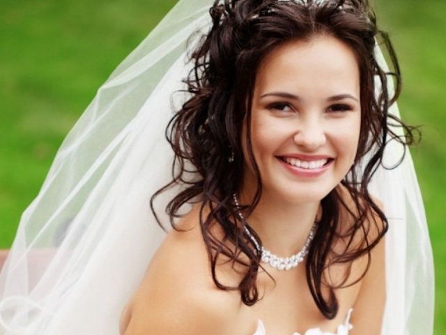 long hair with veils wedding hairstyles wedding hairstyles half up