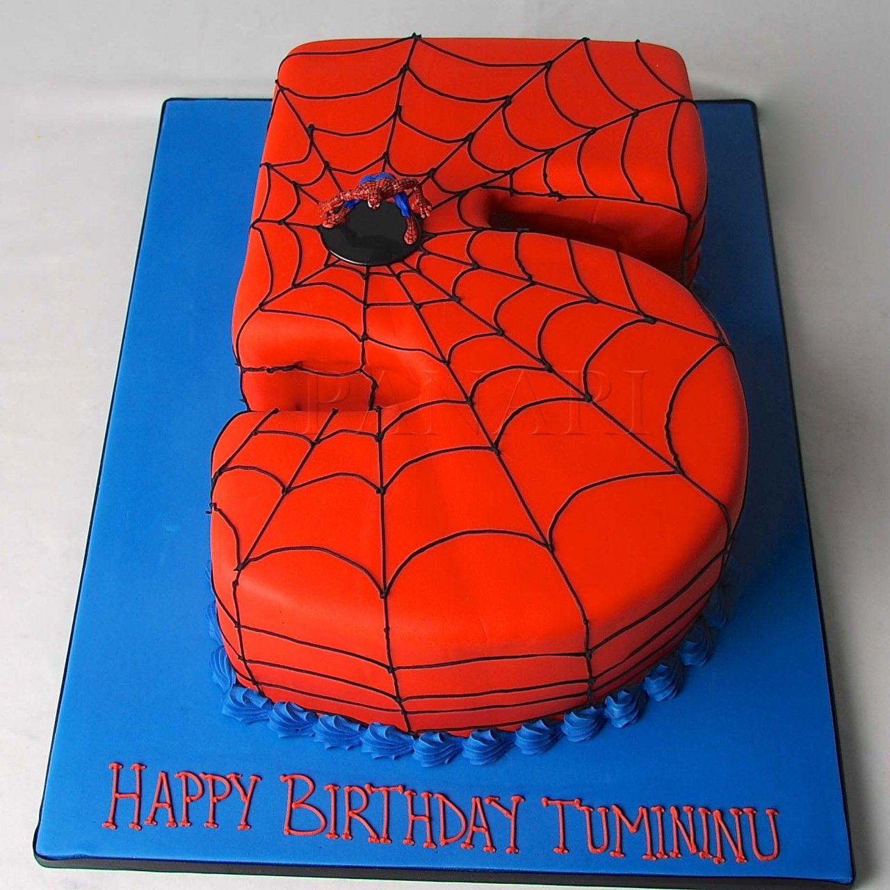 Spider Man Birthday Cakes Walmart