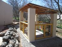 I designed and built this open concept garden shed for my ...
