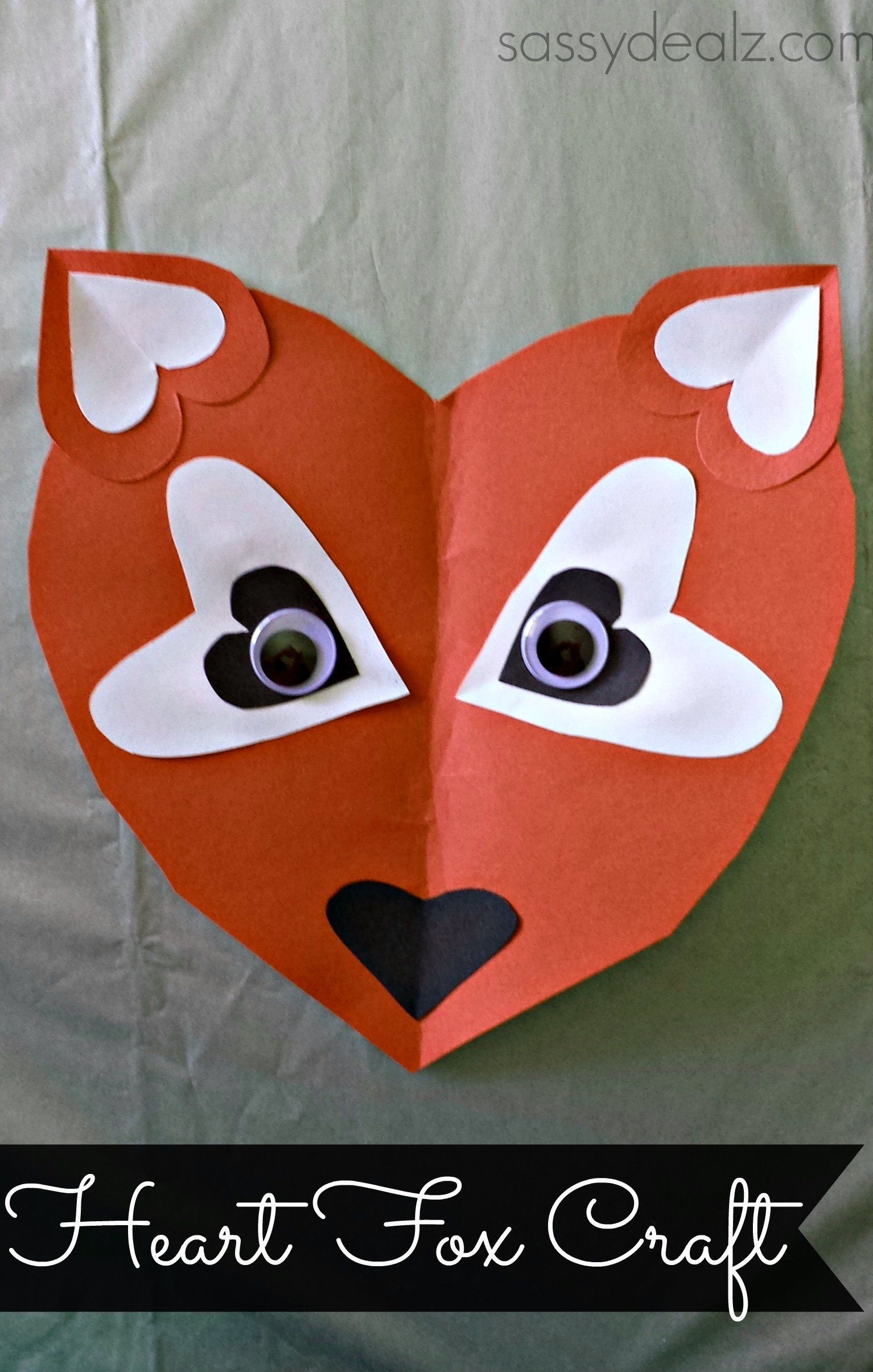 The Mother Lode Of Heart Shaped Animals Cut From Paper
