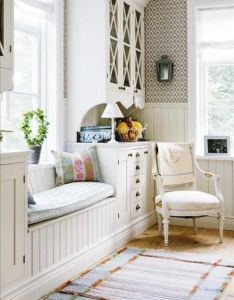 Shabby chic is  style of interior design that become more and popular so we  ve gathered all these cool decorating ideas for you also love this what great way to create window seat with built ins rh pinterest