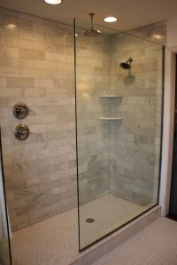Doorless Walk In Shower Designs. shower handle on separate ...