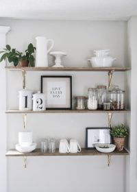 8 Ways to Style Open Shelving in the Kitchen | Open ...