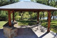 Custom-Outdoor-covered outdoor kitchen | Covered outdoor ...