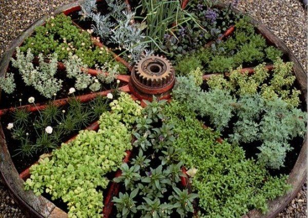 Small Vegetable Garden Ideas Round Vegetable Beds Patio Decorating